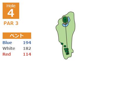中コースHole4