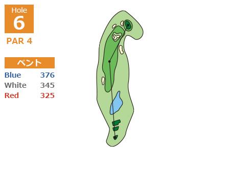 中コースHole6